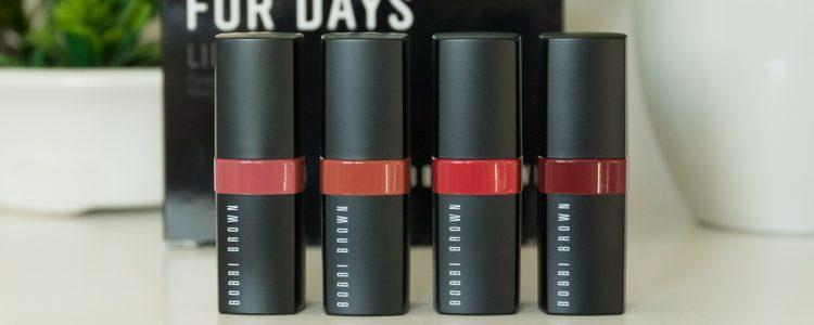Despre rujurile Bobbi Brown Crushed Lip Color
